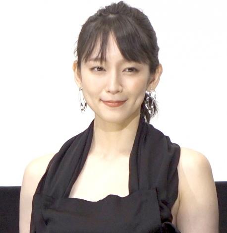映画『見えない目撃者』初日舞台あいさつに登壇した吉岡里帆 (C)ORICON NewS inc.