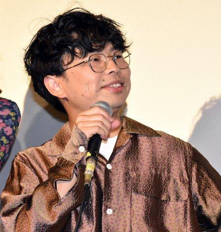 映画『おいしい家族』の初日舞台あいさつに登壇した浜野謙太 (C)ORICON NewS inc.