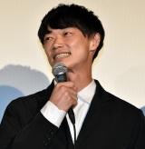 映画『おいしい家族』の初日舞台あいさつに登壇した笠松将 (C)ORICON NewS inc.