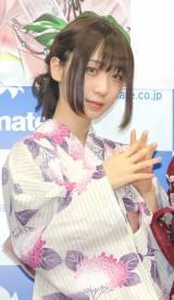 漫画『ドメスティックな彼女』コミックス発売イベントに登場した伊織もえ(C)ORICON NewS inc.
