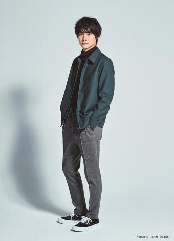 『smart』専属モデルに起用された結木滉星(宝島社)