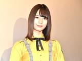 ホラー映画『恐怖人形』の特報上映舞台あいさつに出席した日向坂46の小坂菜緒 (C)ORICON NewS inc.