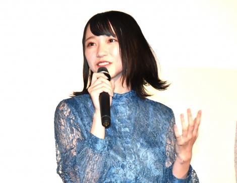 映画『ナツヨゾラ』の上映会に出席した「=LOVE」の野口衣織 (C)ORICON NewS inc.