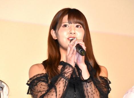 映画『ナツヨゾラ』の上映会に出席した「=LOVE」の佐竹のん乃 (C)ORICON NewS inc.