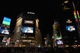 渋谷で大規模なビジョンジャックを実施したONE OK ROCK