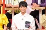 TBS系バラエティー番組『名医のTHE太鼓判!』にゲスト出演する森崎ウィン(C)TBS