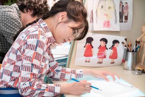 連続テレビ小説『なつぞら』第26週・第151回より。なつ(広瀬すず)たちのアニメーション制作は佳境を迎えていた(C)NHK