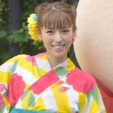 SOCIAL INNOVATION WEEK SHIBUYA『クマタンとうんちまつり』ワークショップに参加した若槻千夏 (C)ORICON NewS inc.
