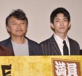(左から)相島一之、前田公輝 =映画『3人の信長』公開記念舞台あいさつ (C)ORICON NewS inc.