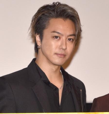 映画『3人の信長』の公開記念舞台あいさつに登壇したTAKAHIRO (C)ORICON NewS inc.