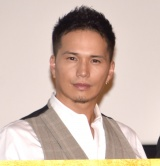 映画『3人の信長』の公開記念舞台あいさつに登壇した市原隼人 (C)ORICON NewS inc.