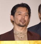 映画『3人の信長』の公開記念舞台あいさつに登壇した岡田義徳 (C)ORICON NewS inc.