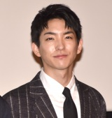 映画『3人の信長』の公開記念舞台あいさつに登壇した前田公輝 (C)ORICON NewS inc.
