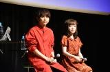 テレビアニメ『七つの大罪 神々の逆鱗』の先行上映会に出席した(左から)梶裕貴、久野美咲 (C)ORICON NewS inc.