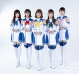 11月6日にシングル「Road to Victory」でCDデビューするOIRC(仮)※写真左から甲斐ゆいか、萩ゆりの、坂本七海、細野かりん、朝陽唯