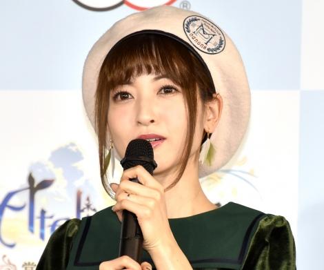 ゲーム『ライザのアトリエ』の完成発表会に出席した神田沙也加 (C)ORICON NewS inc.