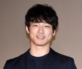 『劇場版 そして、生きる』の公開記念舞台あいさつに出席した坂口健太郎 (C)ORICON NewS inc.