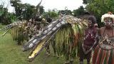 9月27日放送、『所さんの世界のビックリ村!〜こんなトコロになぜ?〜』第11弾。パプアニューギニア独立国「仰天!ワニ男が暮らす村」(C)テレビ東京
