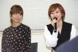 アニメ『ラディアン2』試写会イベントに登場した(左から)渕上舞、花守ゆみり (C)ORICON NewS inc.