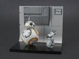 BANDAI SPIRITSより「1/12 BB-8&D-O ジオラマセット」 (プラモデル)(C) & TM Lucasfilm Ltd. All rights reserved.