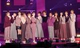 『Rakuten GirlsAward 2019 AUTUMN/WINTER』に登場した乃木坂46&欅坂46&日向坂46 (C)ORICON NewS inc.
