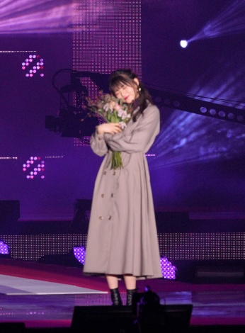 『Rakuten GirlsAward 2019 AUTUMN/WINTER』に登場した齋藤飛鳥 (C)ORICON NewS inc.