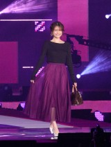 『Rakuten GirlsAward 2019 AUTUMN/WINTER』に登場した松村沙友里 (C)ORICON NewS inc.