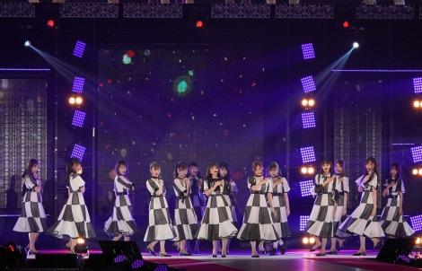 『Rakuten GirlsAward 2019 AUTUMN/WINTER』に登場した乃木坂46 (C)ORICON NewS inc.