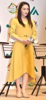 JA全中ファーマーズマーケット『10月2日は直売所の日』PRイベントに参加した仲間由紀恵 (C)ORICON NewS inc.
