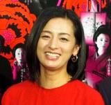 NHK・BSプレミアム『令和元年版 怪談牡丹燈籠 Beauty&Fear』の試写会に出席した尾野真千子 (C)ORICON NewS inc.