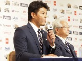 『ENEOS侍ジャパンシリーズ2019日本vs.カナダ』侍ジャパンメンバー発表会見の様子