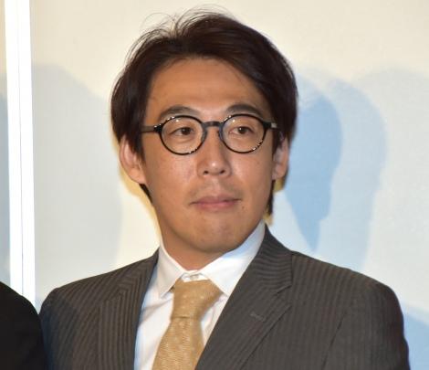 映画『蜜蜂と遠雷』試写会に登壇した石川慶 (C)ORICON NewS inc.