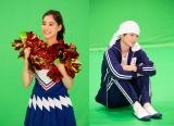 ドラマ『モトカレマニア』で七変化する(左から)新木優子、高良健吾(C)フジテレビ