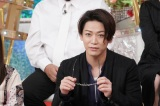 2日放送の『衝撃のアノ人に会ってみた!』に出演する亀梨和也(KAT-TUN) (C)日本テレビ