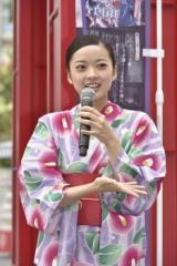 『和ハロウィーン in 東京ドームシティ アトラクションズ』発表会にゲストとして参加した川瀬莉子
