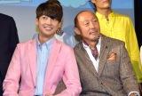舞台『素敵なカミングアウト』の制作発表会見に出席した(左から)ヨンミン、武田幸三 (C)ORICON NewS inc.