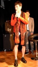 舞台『素敵なカミングアウト』の制作発表会見に出席したクリス松村 (C)ORICON NewS inc.