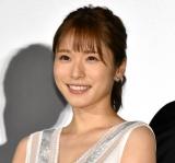 映画『蜜蜂と遠雷』の初日舞台あいさつに登壇した松岡茉優 (C)ORICON NewS inc.
