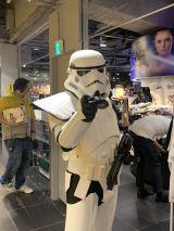 ストームトルーパー(銀河帝国版)=渋谷ロフトにオープンした「STAR WARS LIMITED STORE」 (C)ORICON NewS inc.