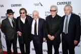 Netflix オリジナル映画 『アイリッシュマン』(左から)ジョー・ペシ、アル・パチーノ、マーティン・スコセッシ、ハーヴェイ・カイテル、ロバート・デ・ニーロが勢ぞろい