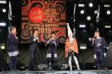 10月5日開催『水曜どうでしょう祭2019』2日目、安田顕(左から3人目)が登場(C)HTB