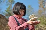 連続テレビ小説『スカーレット』第1週より。信楽の土の良さについて考える川原喜美子(C)NHK