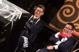 『水曜どうでしょう祭 FESTIVAL in SAPPORO 2019』最終日(左から)嬉野雅道、藤村忠寿(C)HTB