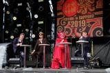 『水曜どうでしょう祭 FESTIVAL in SAPPORO 2019』最終日。どうでしょう班の4人(左から)嬉野雅道、大泉洋、鈴井貴之、藤村忠寿(C)HTB