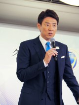 フィギュアスケート『グランプリシリーズ/ファイナル2019』記者会見に登壇した松岡修造(メインキャスター) (C)ORICON NewS inc.