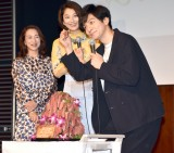 """共演者から""""ローストビーフケーキ""""で誕生日を祝われた生田斗真 (C)ORICON NewS inc."""
