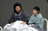 舞台『NODA・MAP 第23回公演「Q」:A Night At The Kabuki』公開ゲネプロの模様(左から)上川隆也、松たか子 (C)ORICON NewS inc.