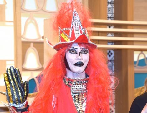 出身はJAGUAR星を半笑いで説明したJAGUAR=『BSフジ11時間テレビ2019 全国対抗! 脳トレ生合戦!!』制作発表会 (C)ORICON NewS inc.