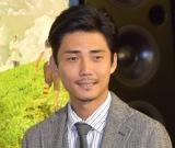 NHK土曜ドラマ『少年寅次郎』の試写会後に行われた取材会に出席した毎熊克哉 (C)ORICON NewS inc.