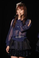 SKE48劇場のミッドナイト公演で卒業を発表した高柳明音